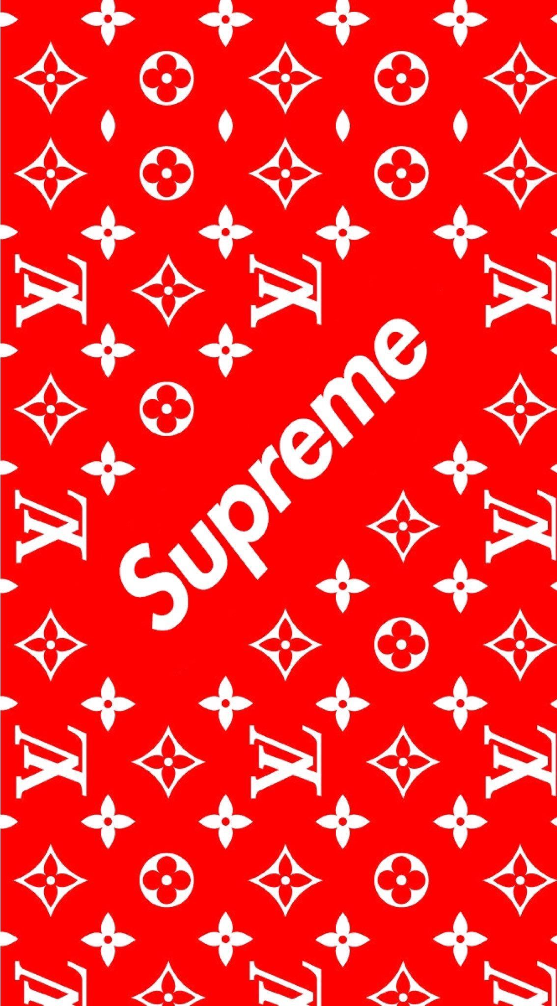 Supreme Wallpaper 4k Iphone X
