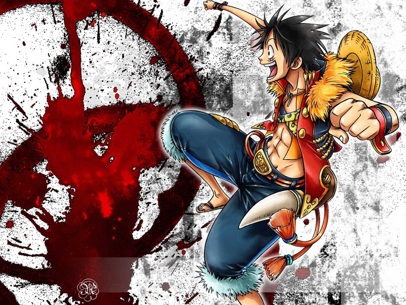 Anime Wallpaper One Piece Luffy