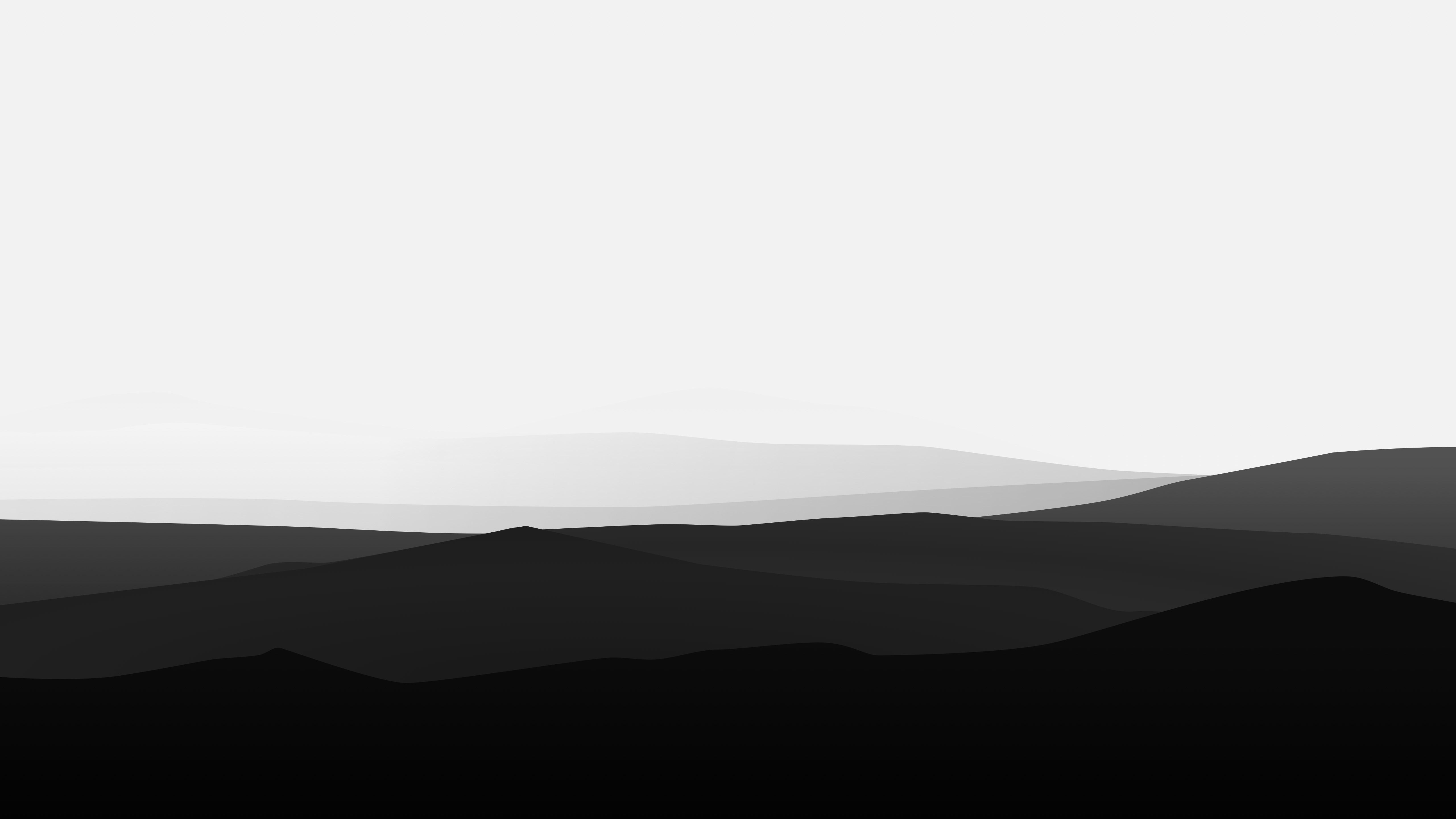 Minimalist Black And White Wallpaper 4k