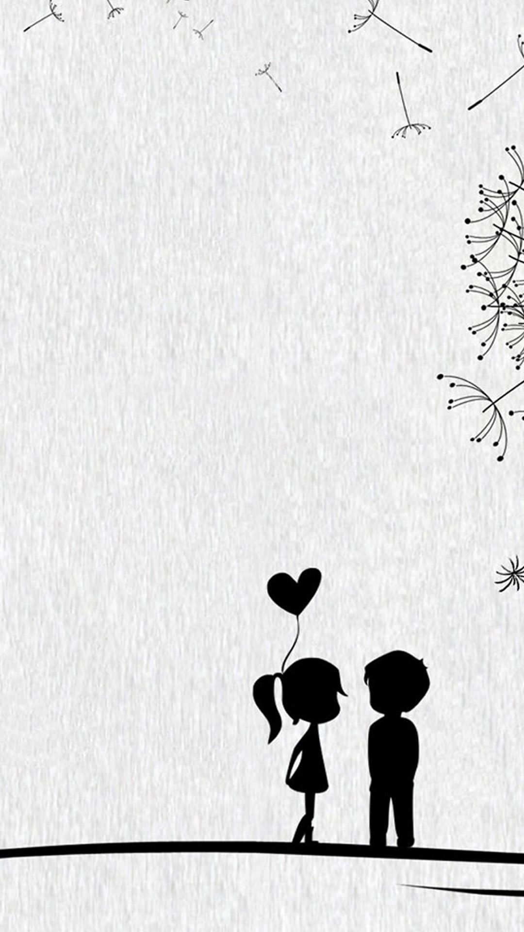Girly Iphone Black Background Wallpaper