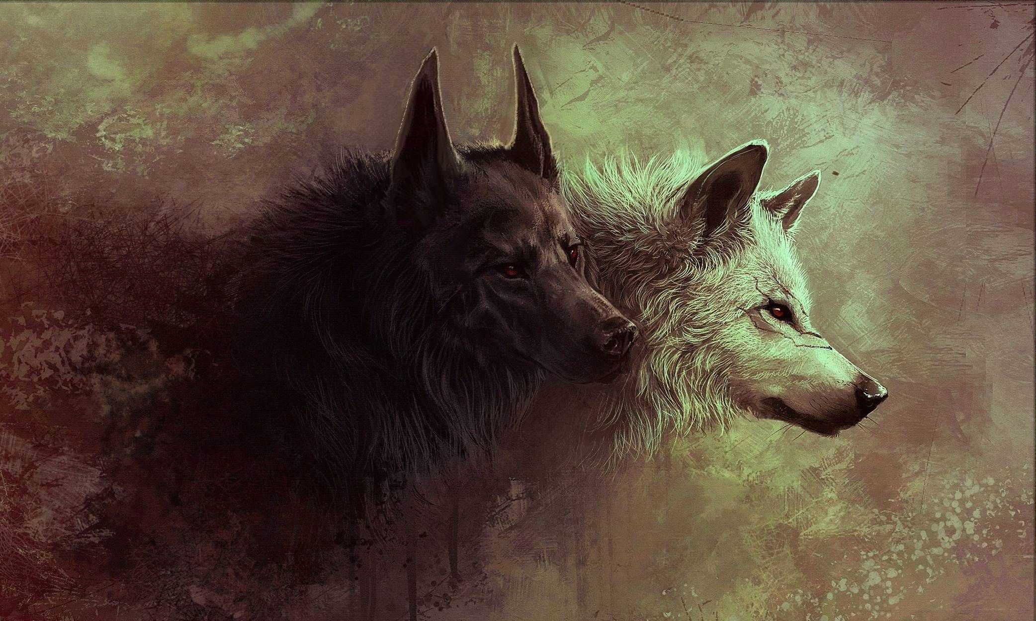 Wallpaper Epic Wolf Pack