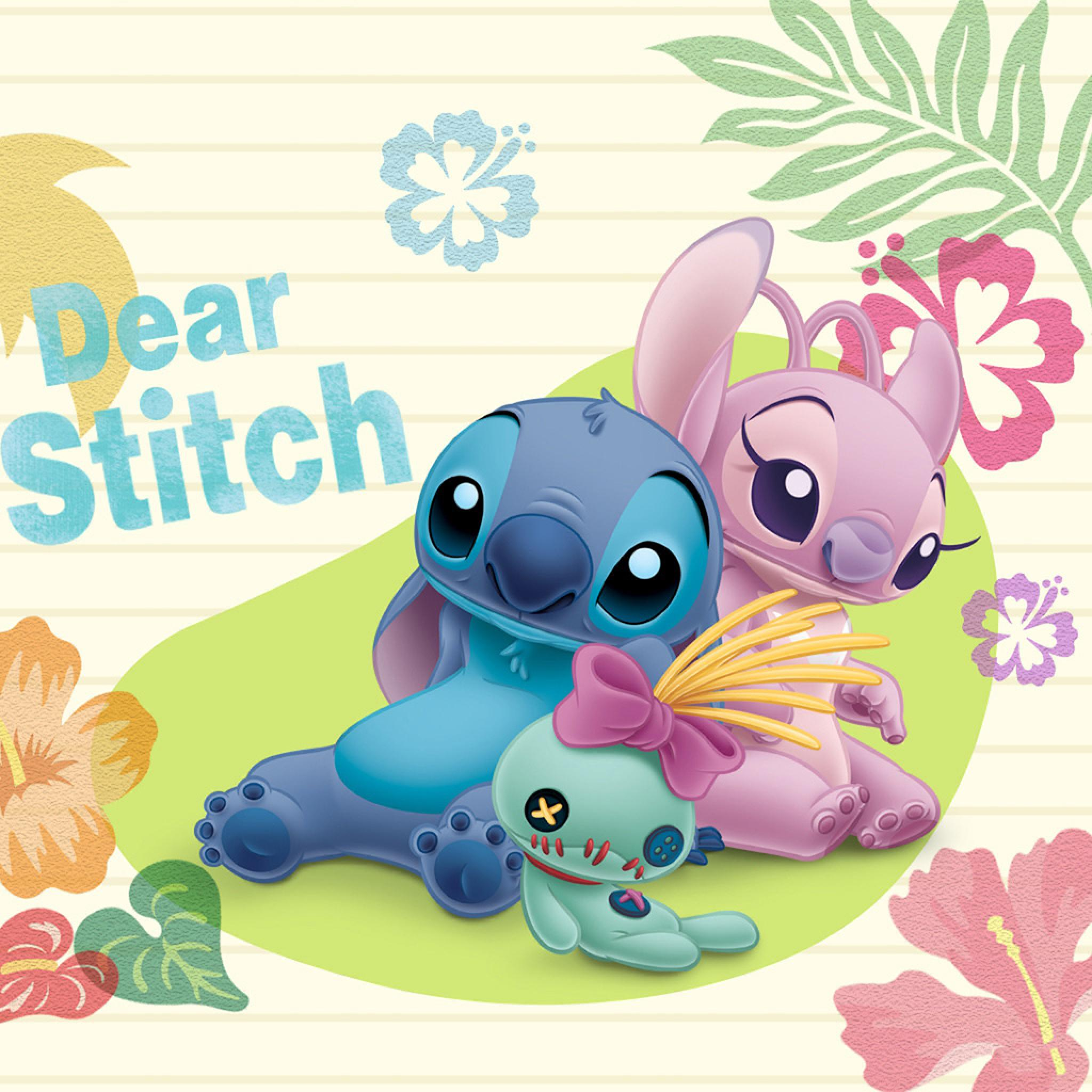 Cute Wallpapers Stitch Girl