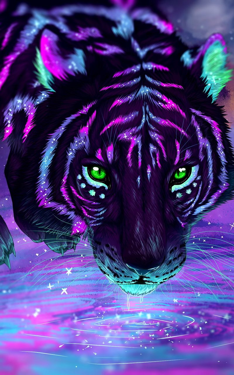 Galaxy Cool Tiger Wallpapers