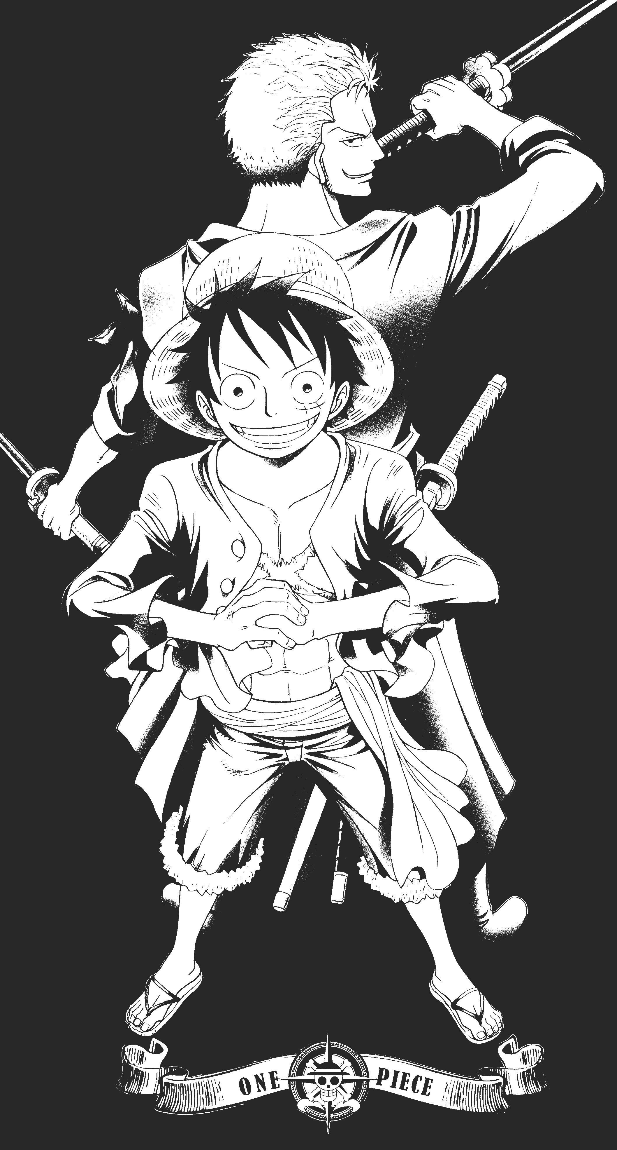 Zoro Wallpaper Black And White
