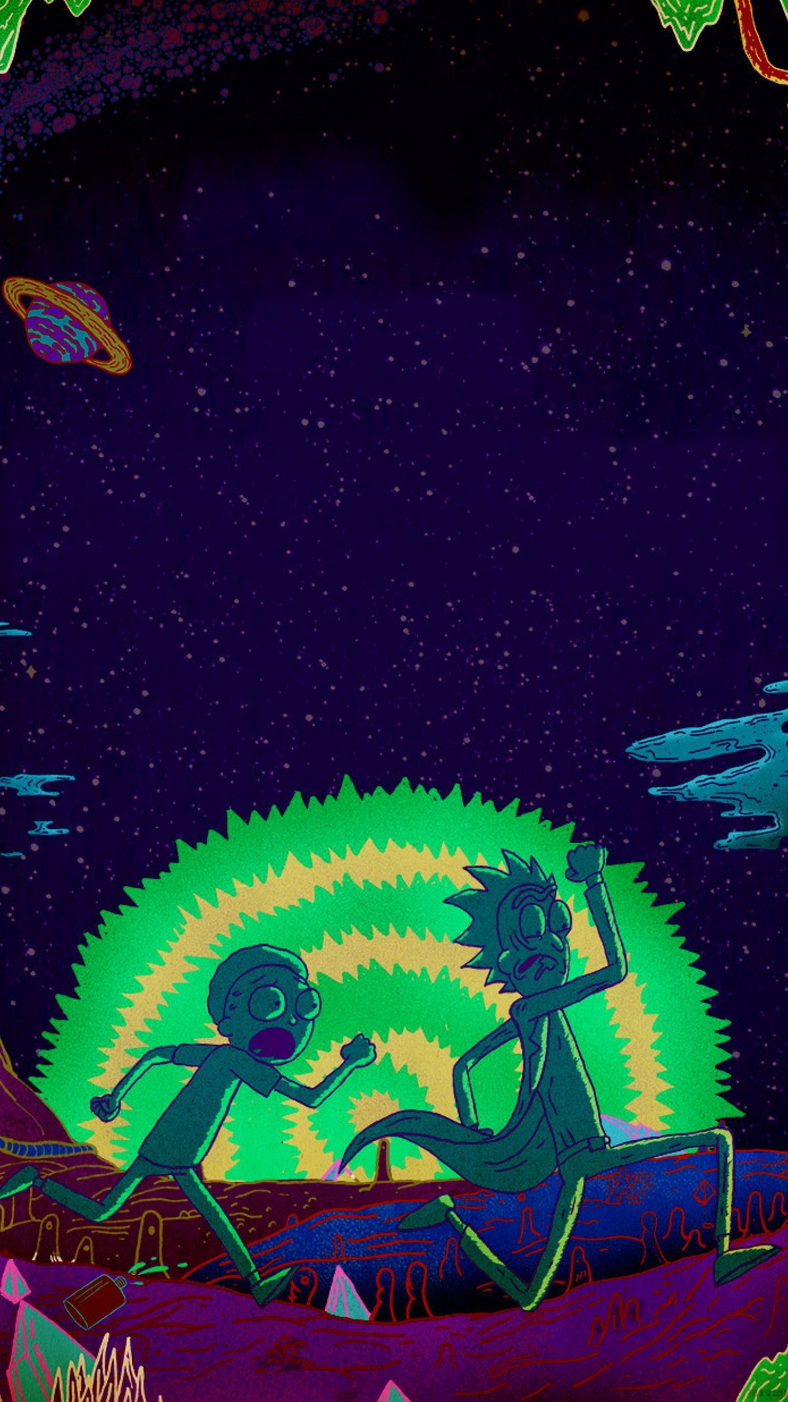 Rick And Morty Wallpaper 4k Phone