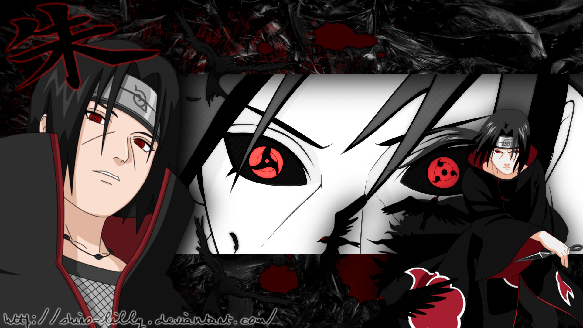 Wallpaper Android Home Screen Itachi