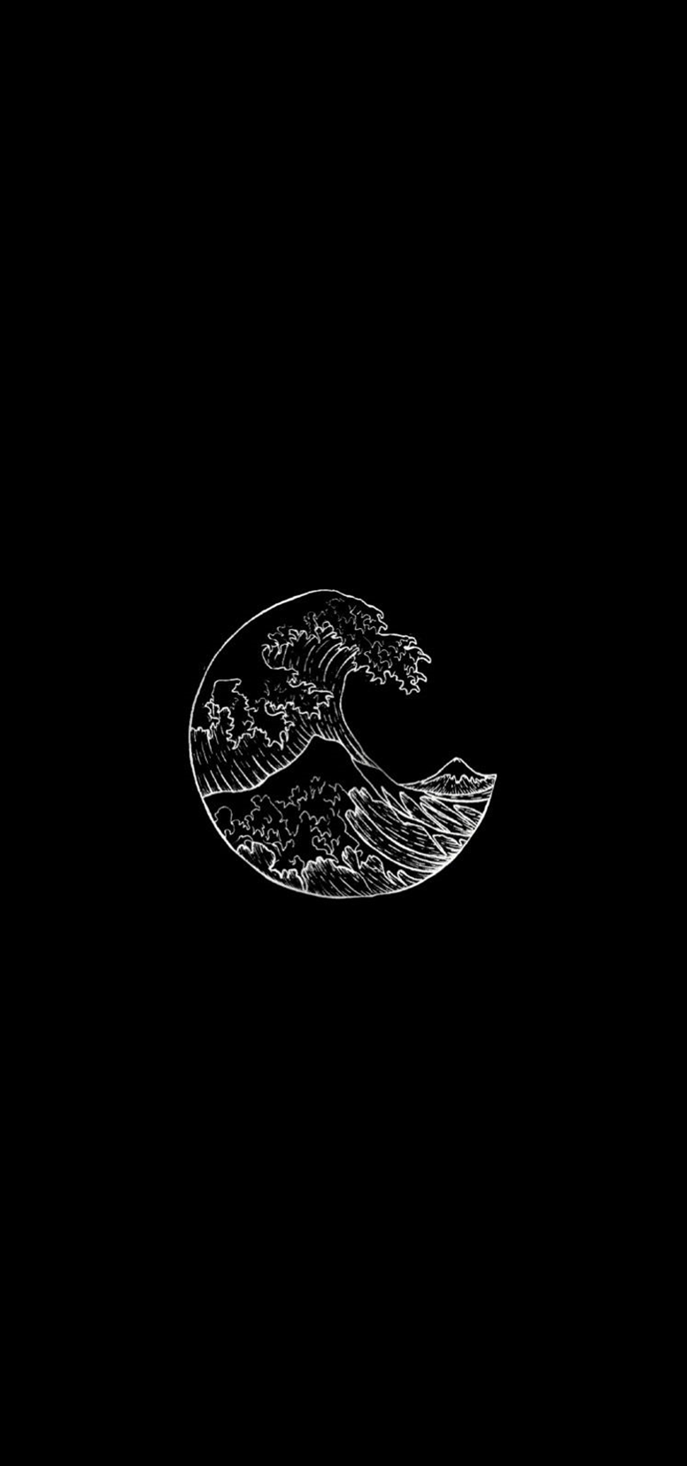 Deep Meaning Aesthetic Edgy Black And White Wallpaper