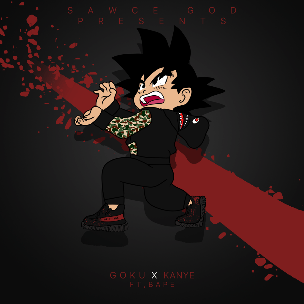 Kid Goku Gucci Wallpaper
