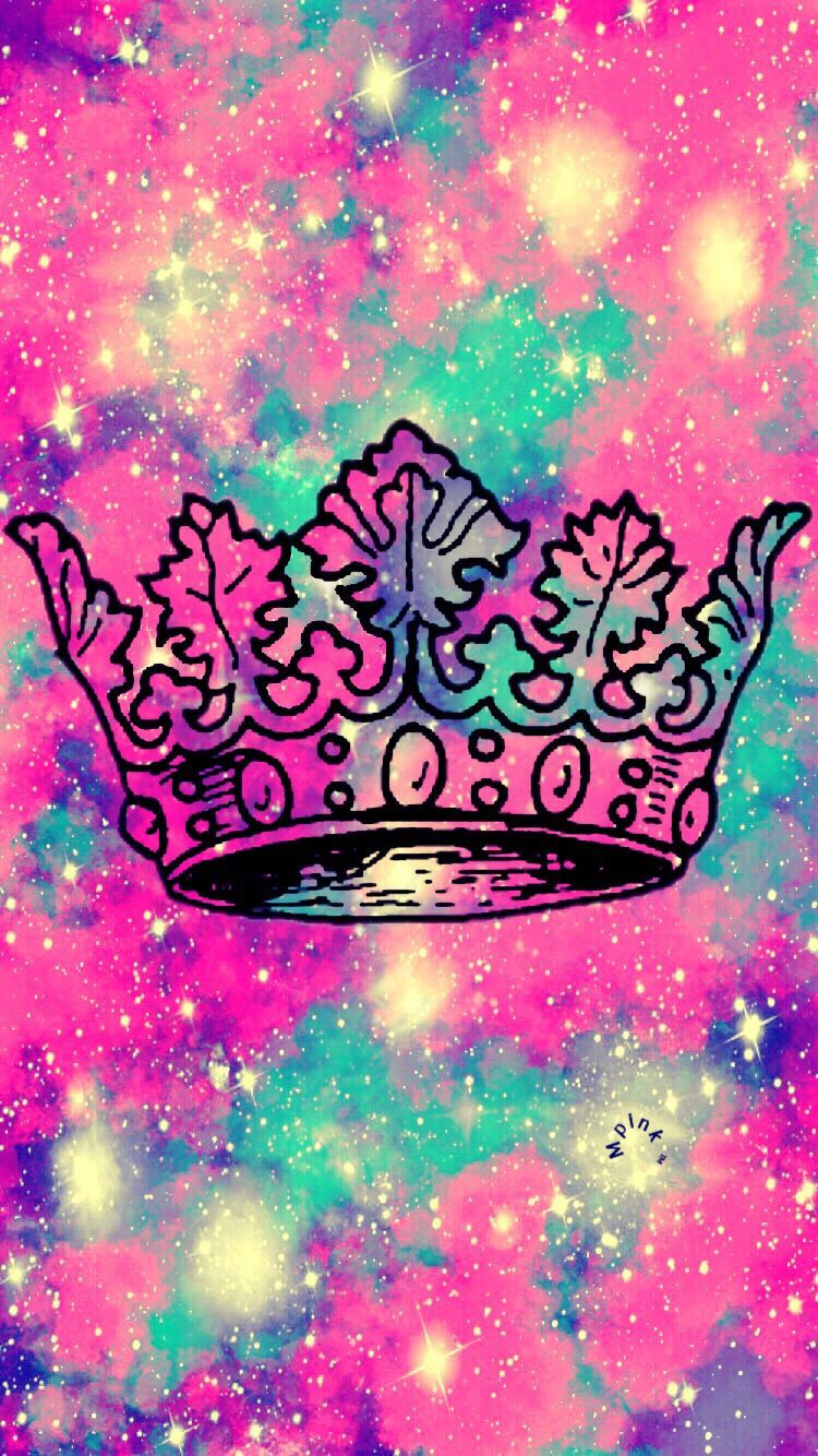 Tumblr Black Queen Crown Wallpaper