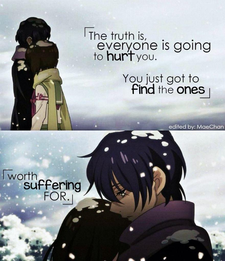 Anime Quotes About Love 6