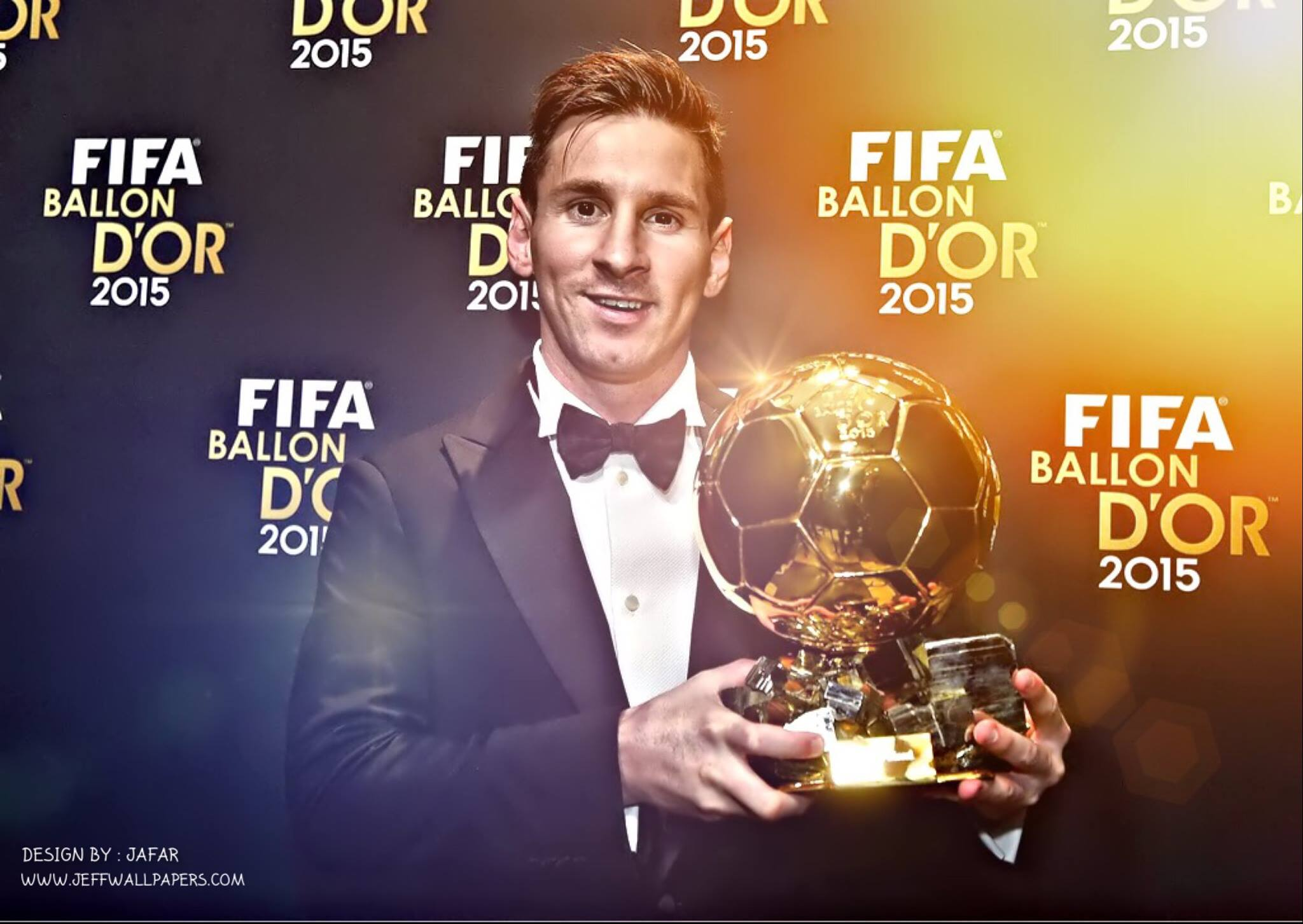 Wallpaper Messi Ballon Dor
