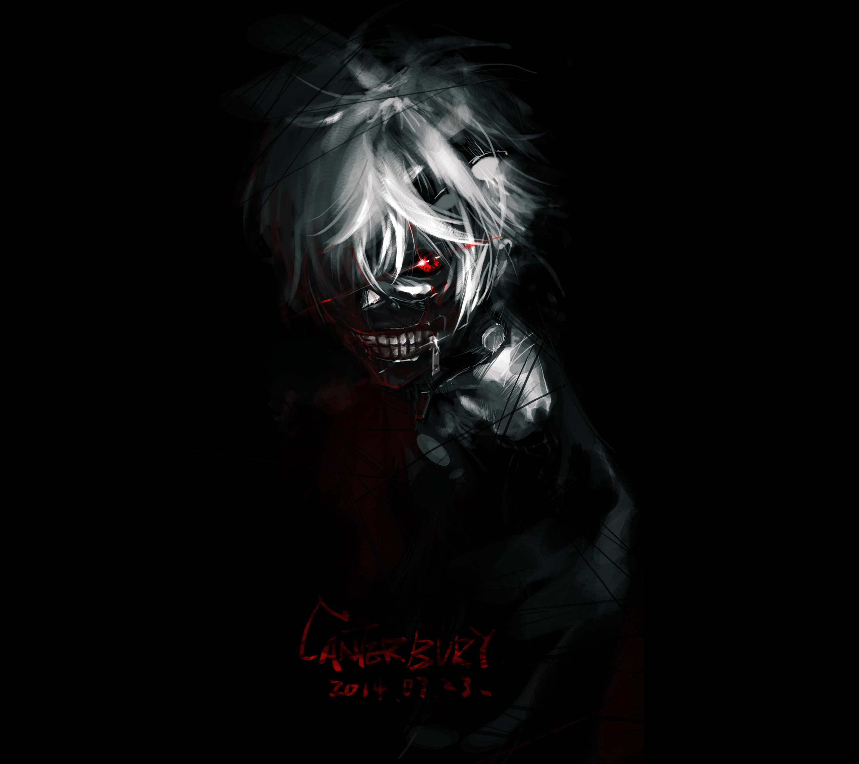 Anime Wallpaper Scary