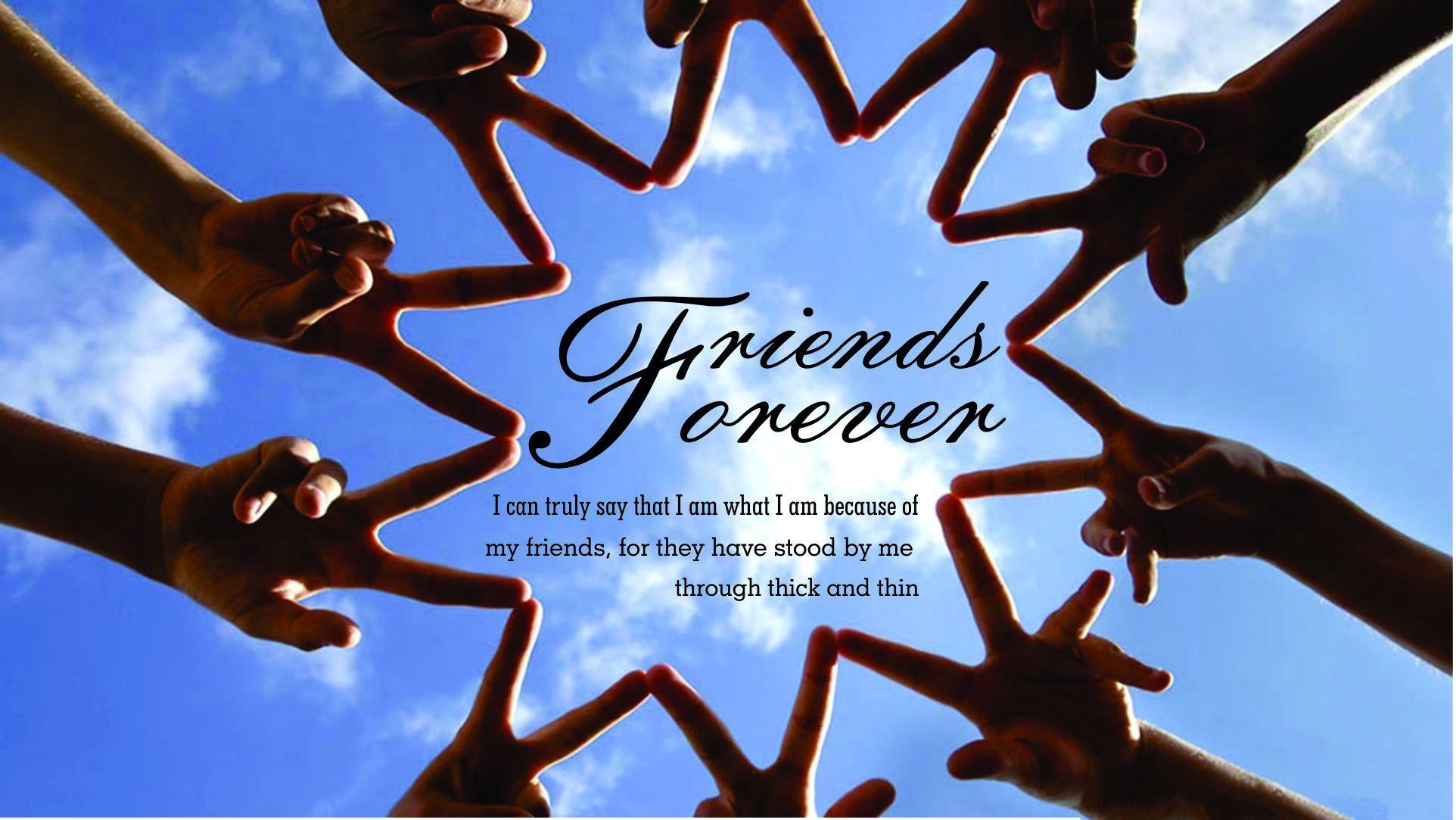 Wallpaper Friends Forever
