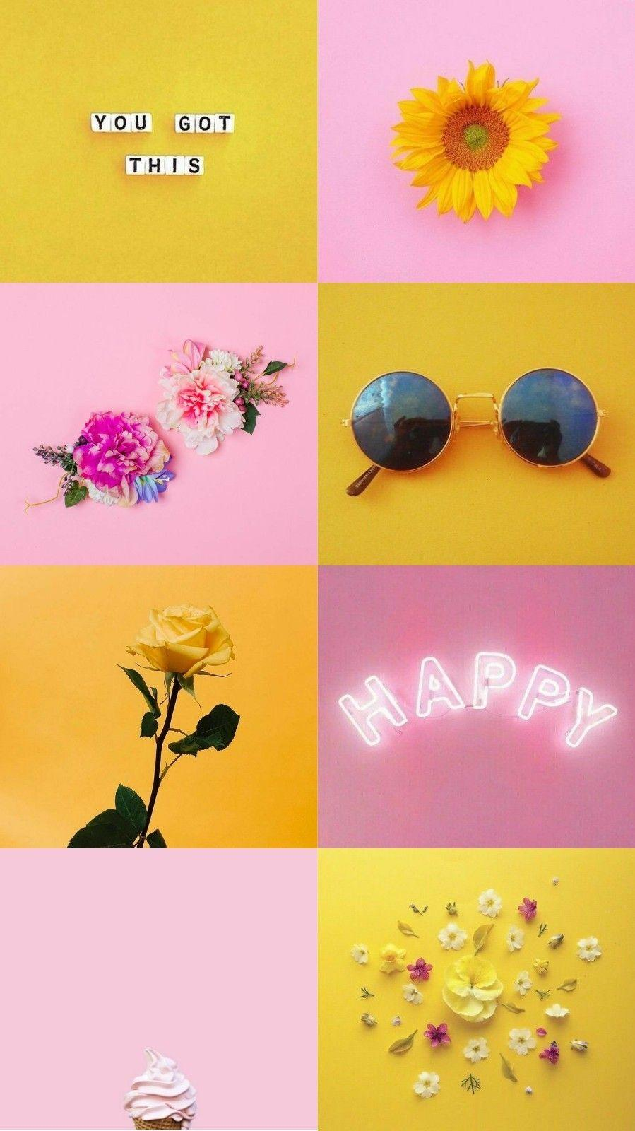 Baddie Yellow Cute Aesthetic Wallpapers