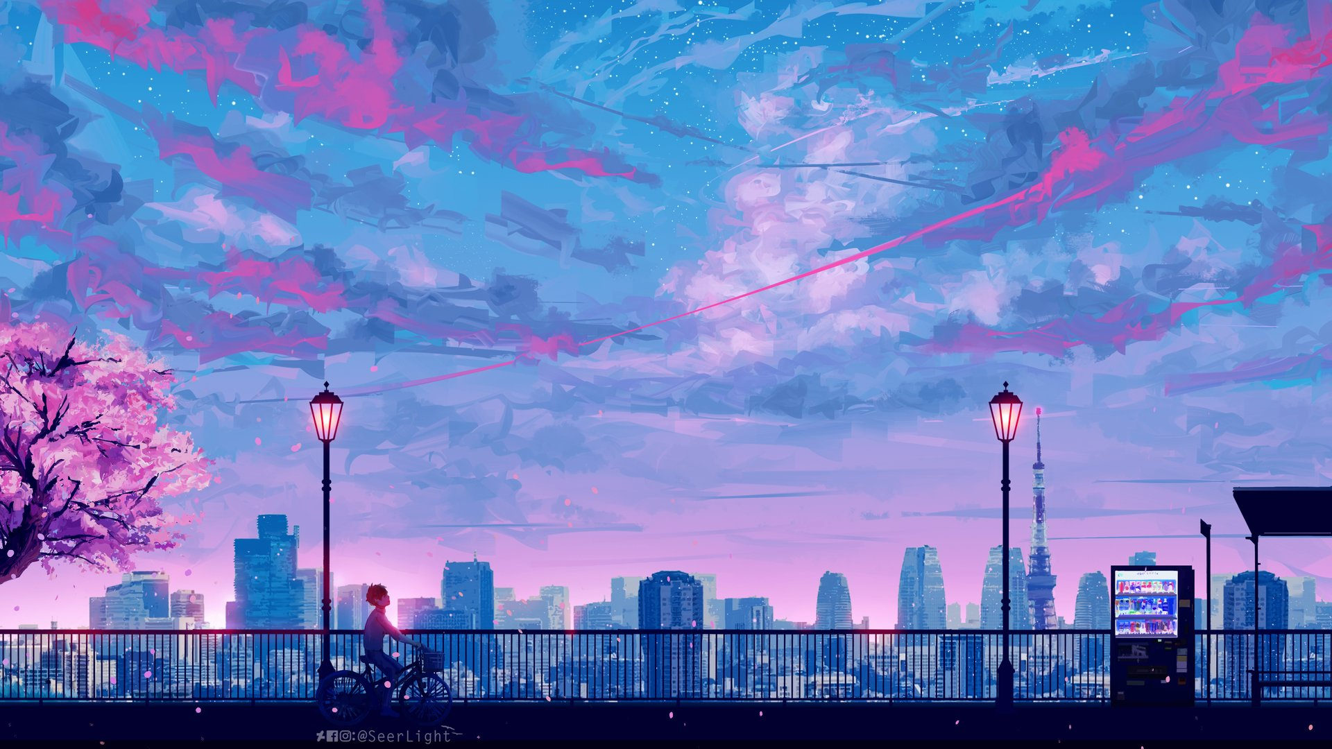 Aesthetic Anime Wallpaper 1920x1080 Hd