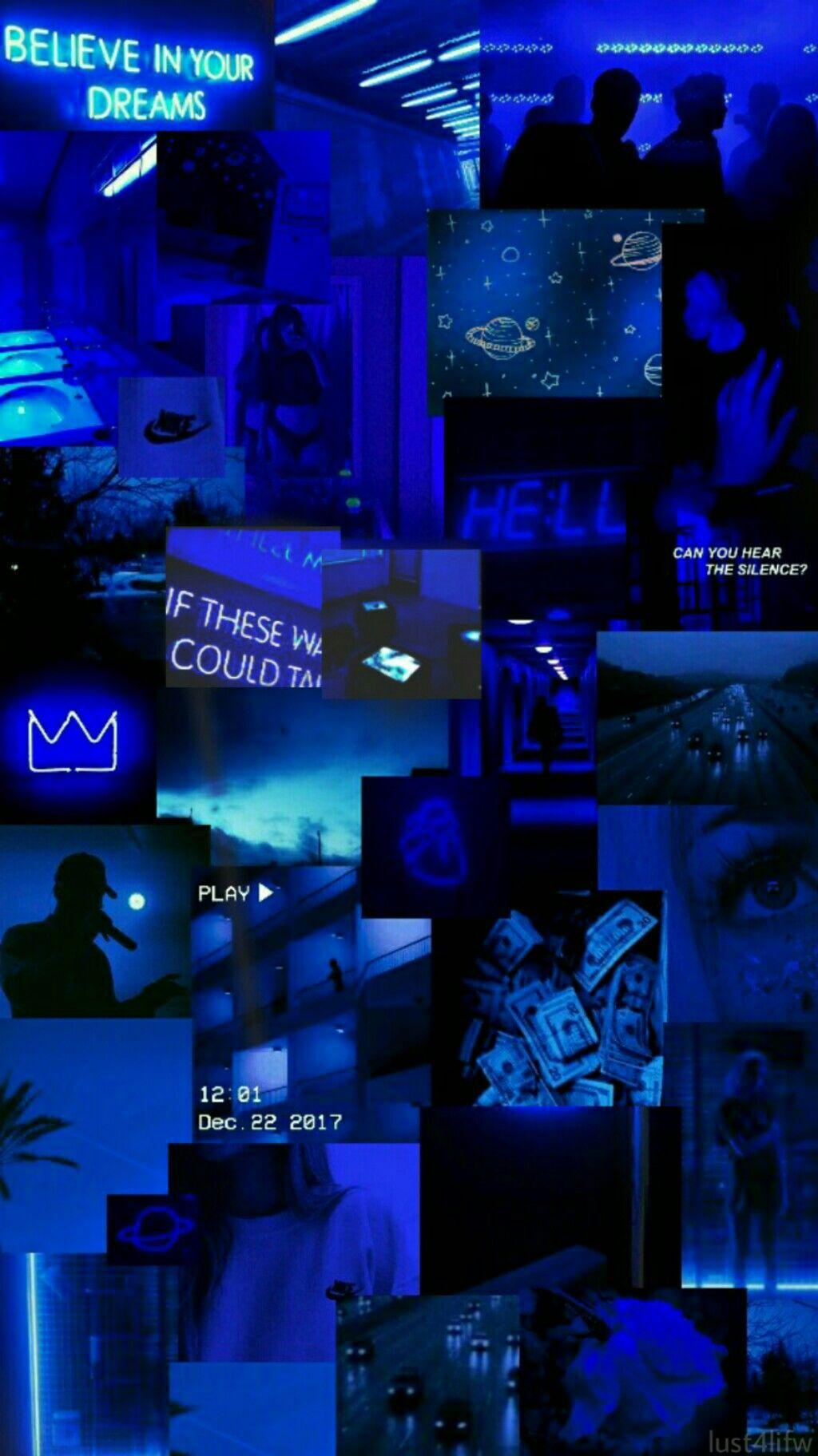 Midnight Blue Blue Aesthetic Wallpaper Quotes