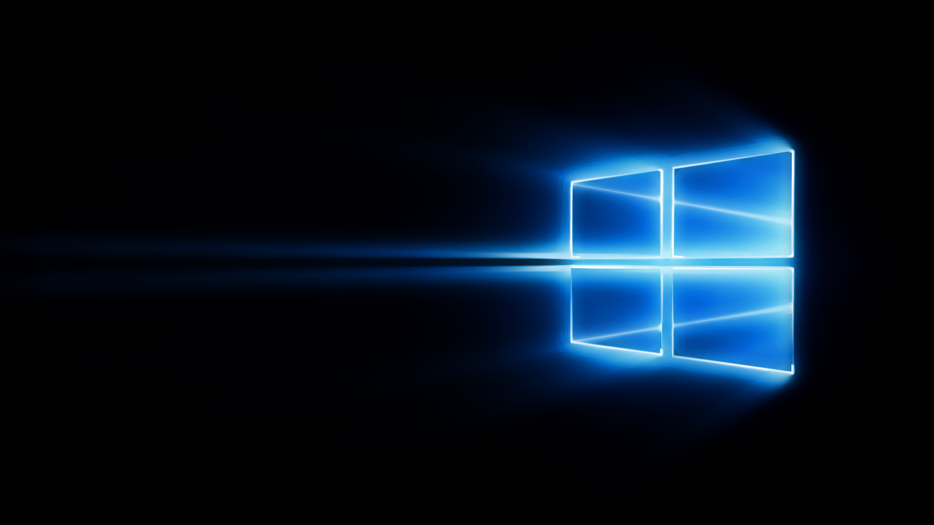 Windows 10 Black Wallpaper 1920x1080