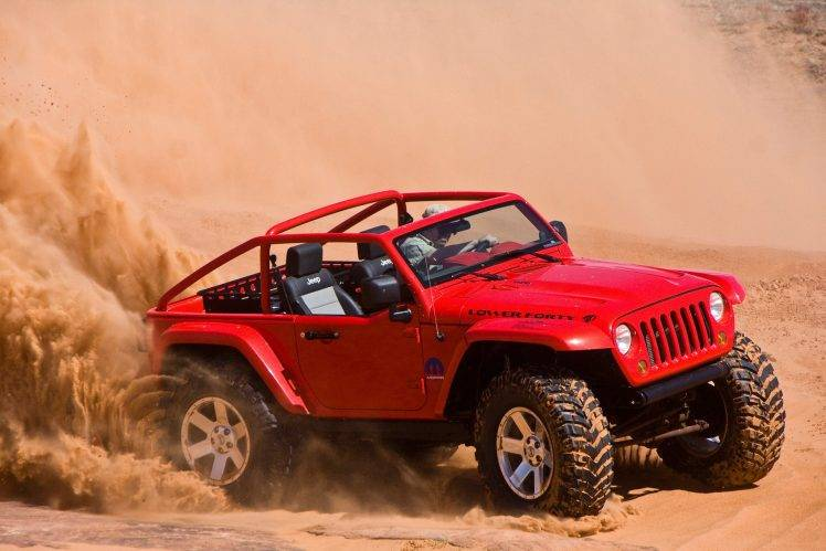 326868 Jeep car desert