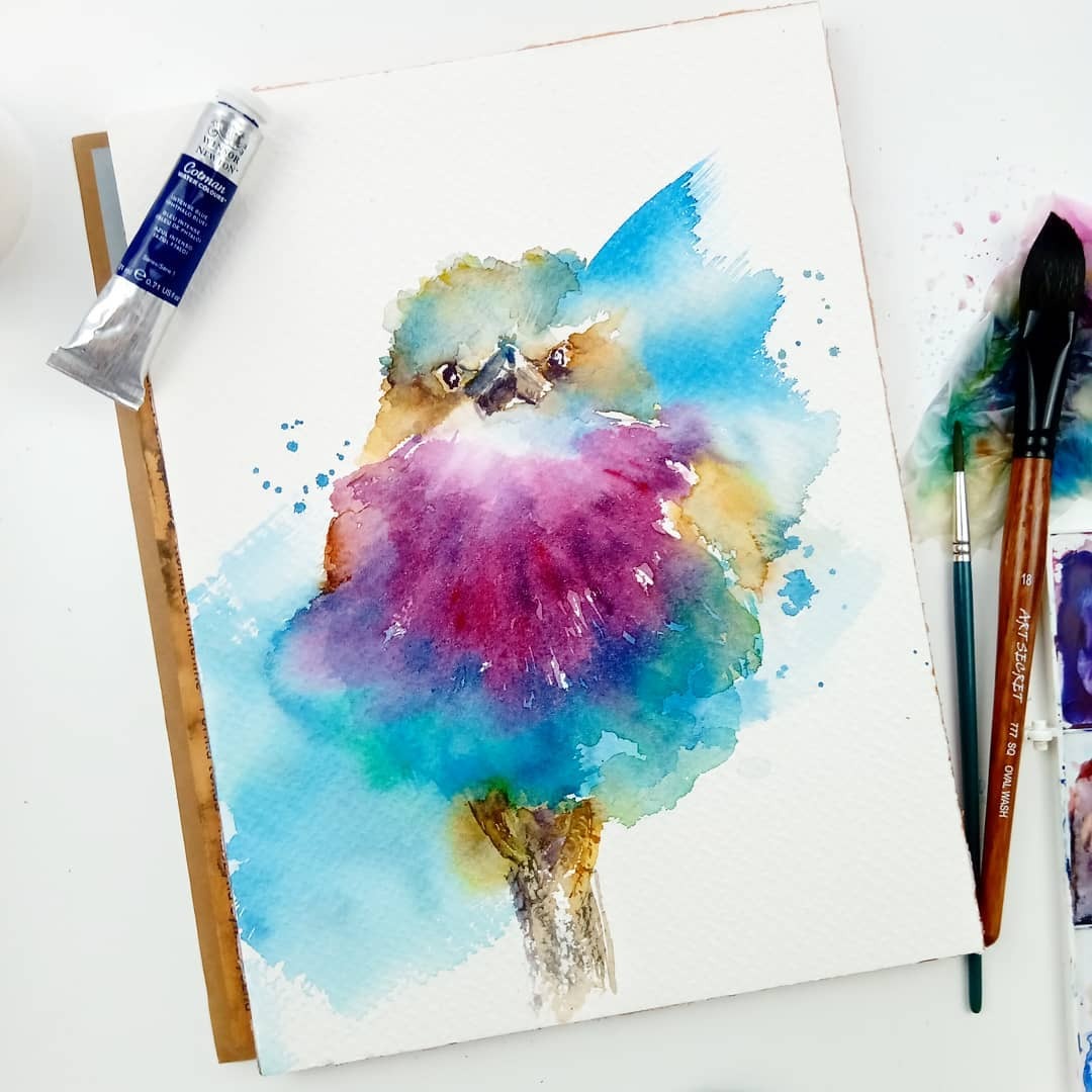 Is watercolor painting difficult? 8