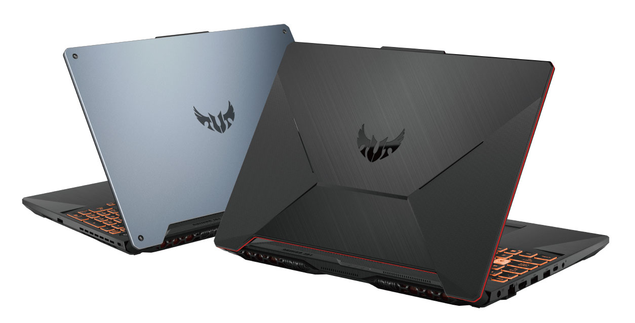 Asus TUF Gaming A15 FA506 color choices