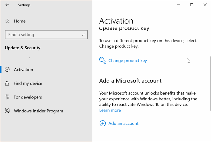 transfer Windows 10 license to new computer pic4