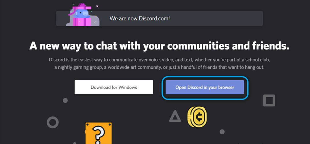 Discord browser