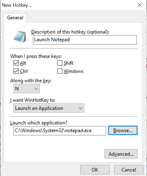 use winhotkey to create keyboard shortcuts for programs pic2