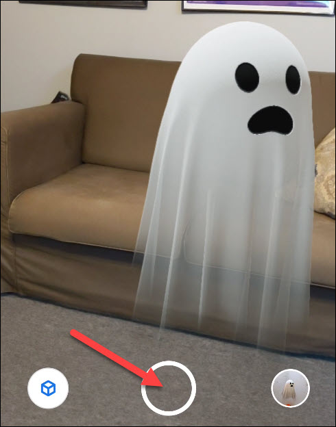 move object and snap a photo