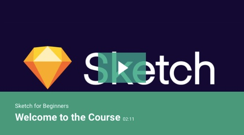 Screenshot of Sketch for Beginners home page.