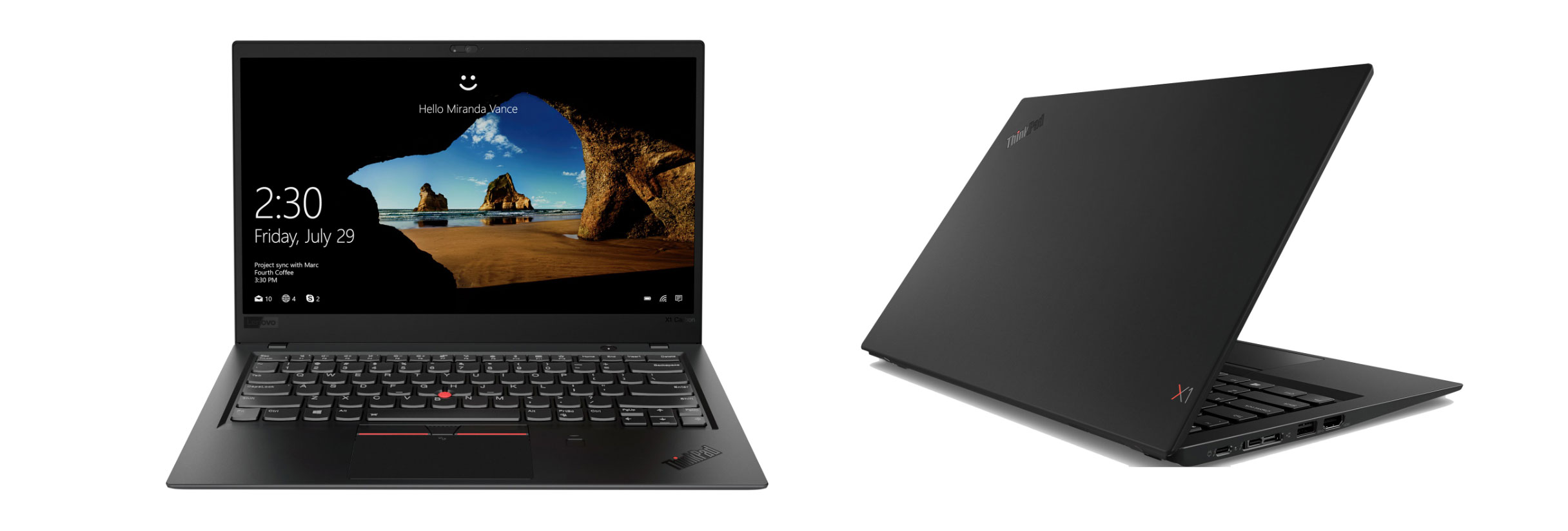 Lenovo ThinkPad X1 Carbon - lighweight and packed full of features, but expensive