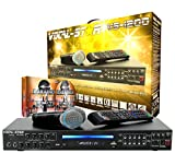Image of Vocal-Star VS-1200 CDG DVD HDMI Karaoke Machine With Bluetooth Including 2 Wired Microphones and 150 Top Party Songs