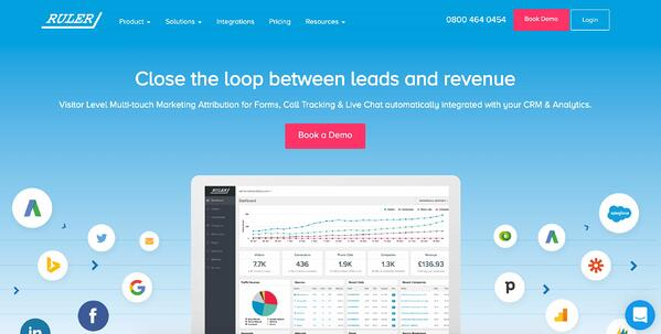 ruler marketing attribution software and tools