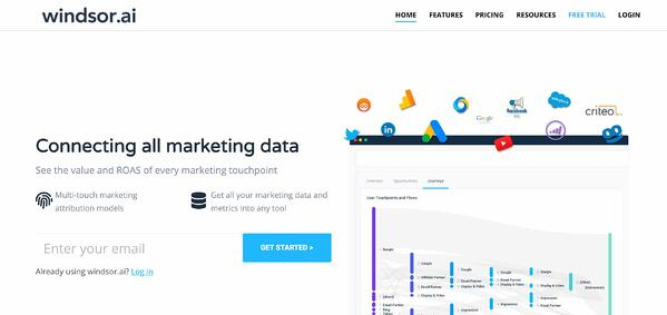 windsor.ai marketing attribution software and tools
