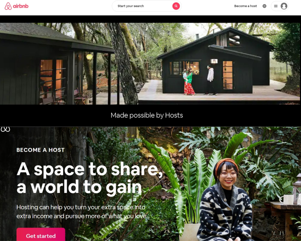 UX and its role in SEO an important ranking factor - Airbnb example