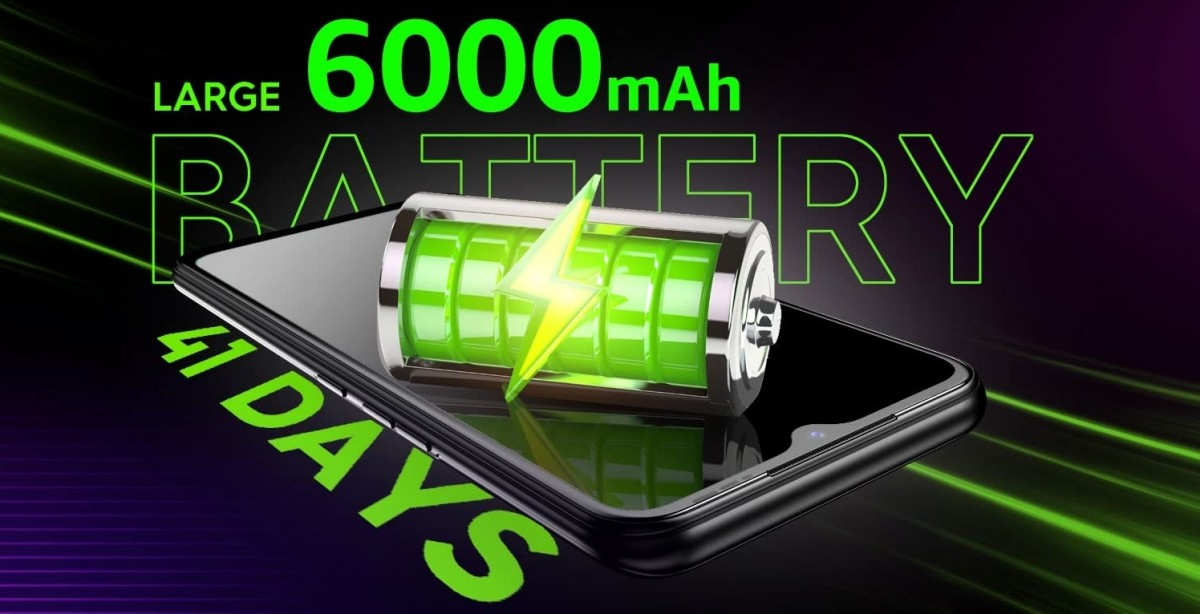 Tecno Spark 7 is coming on April 9 with a 6,000 mAh battery