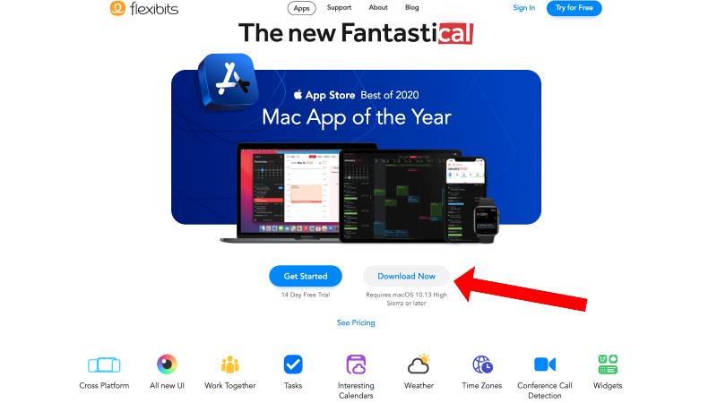 How to install apps on a Mac: Fantastical