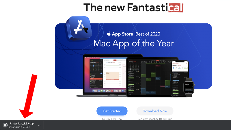 How to install an app on a Mac: Download app