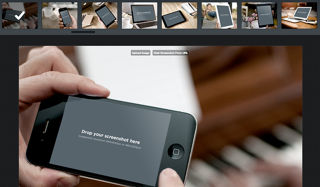 placeit as an online design tool for creating visualization demo for screenshots and products