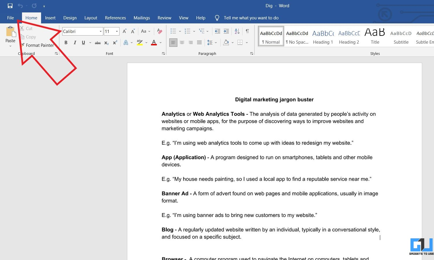Convert PDF to Google Docs with MS Word