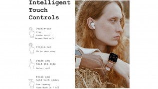 DIZO Buds Z feature touch controls and have three EQ presets