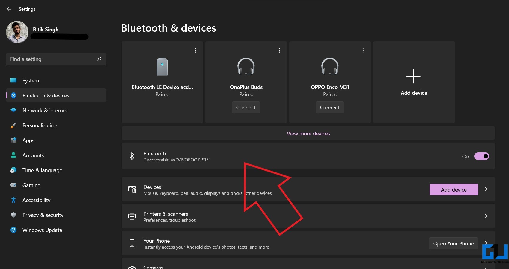 Fix Bluetooth Connection Pairing Issue Windows 11