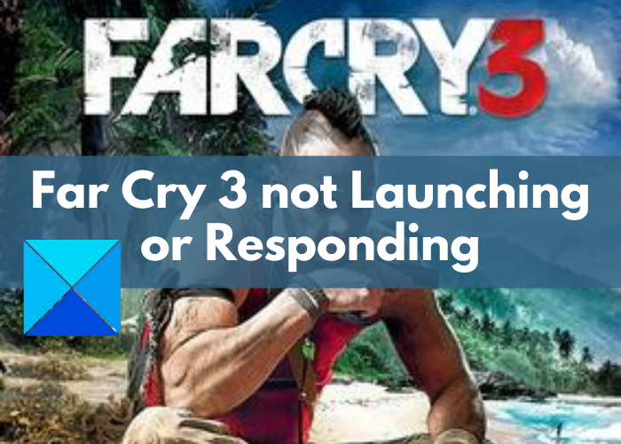 Far Cry 3 Not launching, Working or Responding
