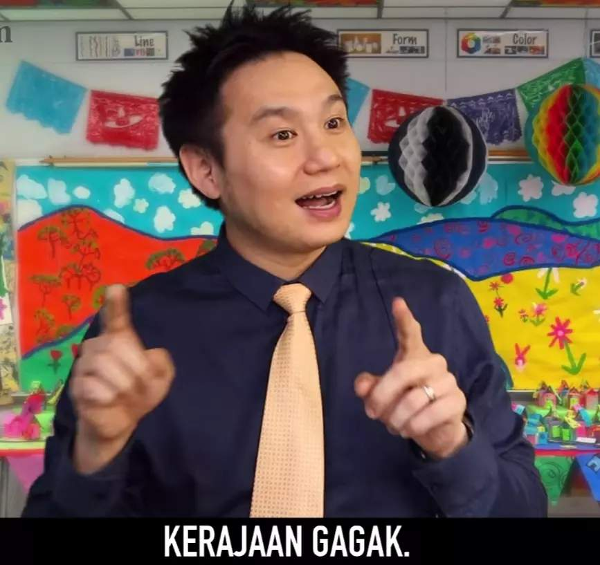 Comedian douglas lim throws subtle shade at certain parties with new video