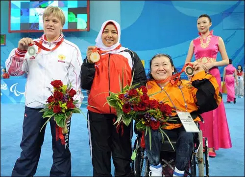 Siew lee chan at beijing 2008