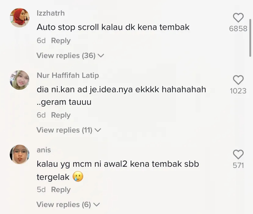 Squid game comment section (1)