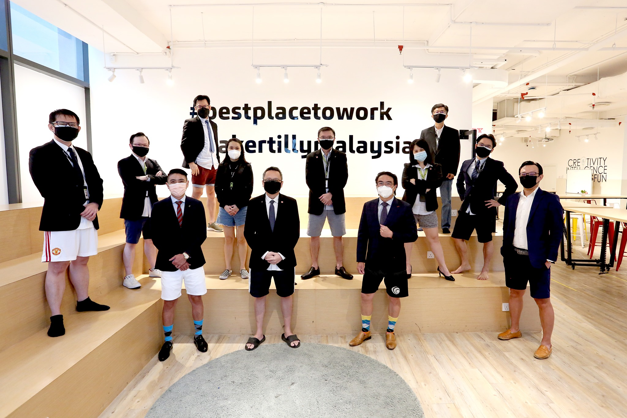 M'sian accounting firm's introduces 'top-formal, bottom-casual' attire on the first day at the office
