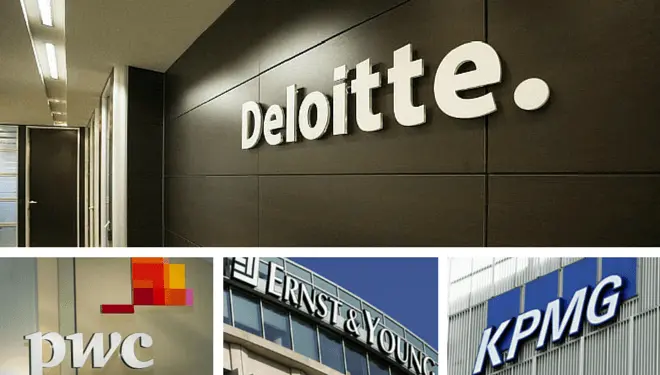 Big four(pwc, deloitte, kpmg. Ernst & young) in malaysia that many fresh graduate dream of.