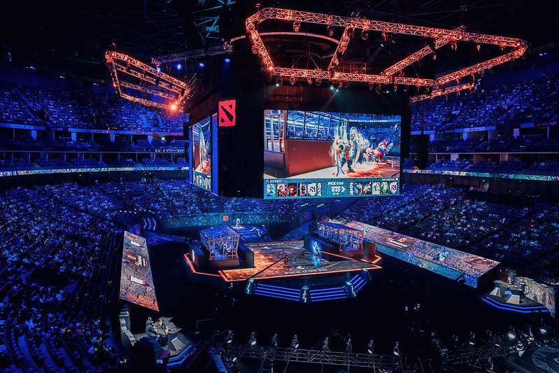 Grand stage of ti main event 2019