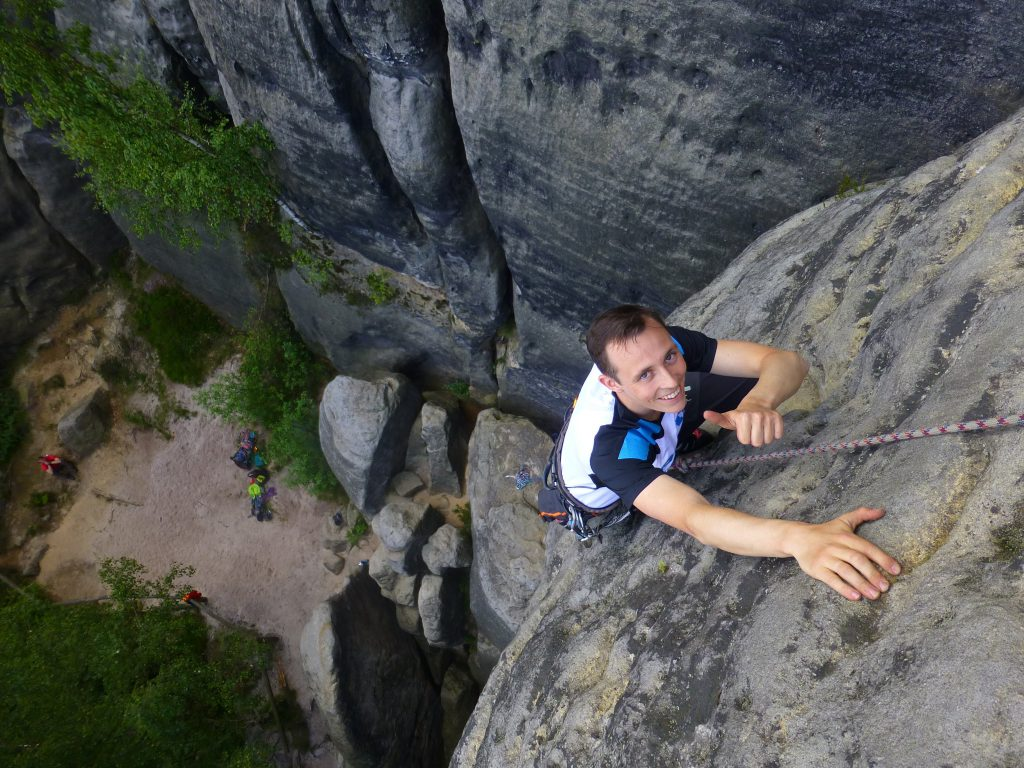 Climbing top10 extreme sports