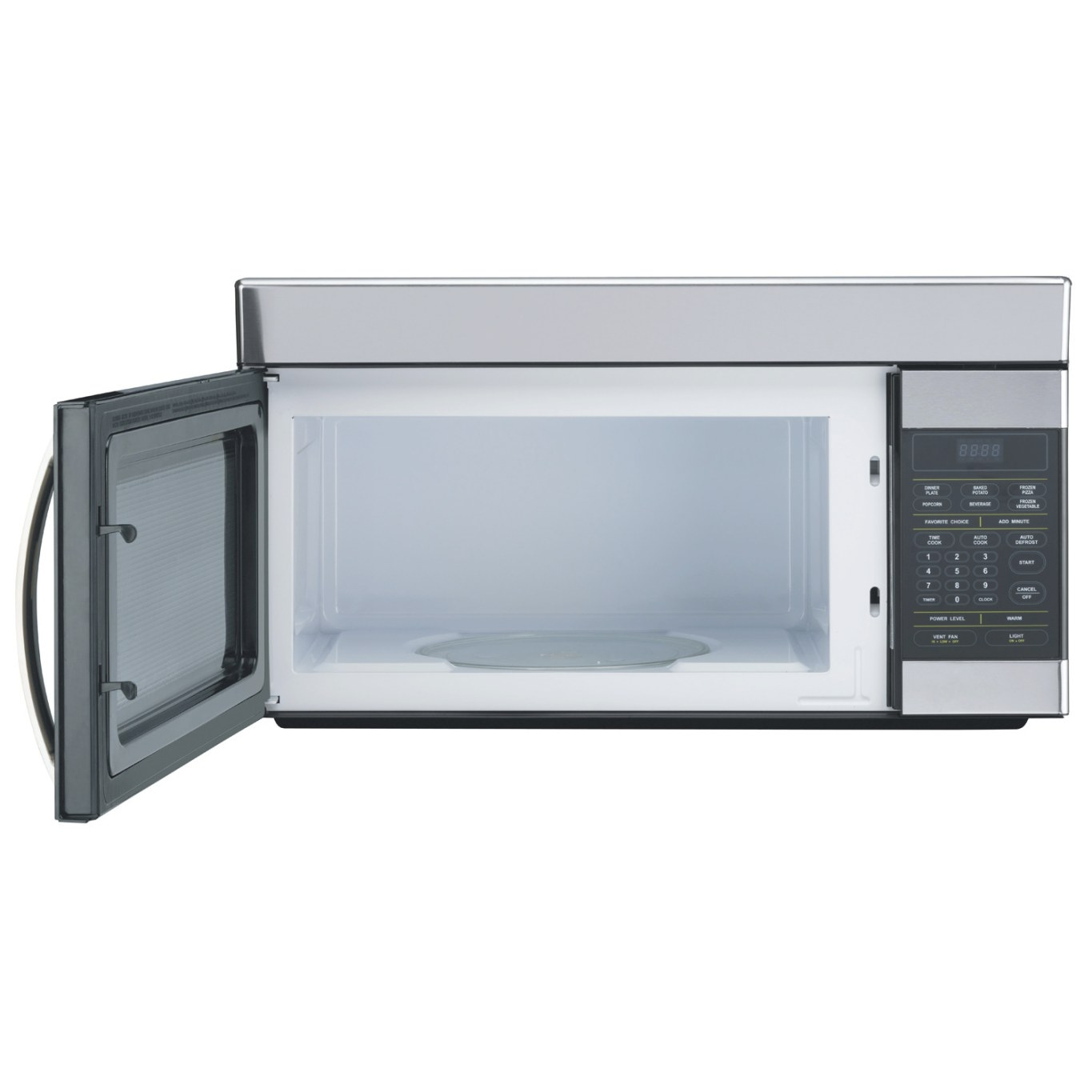 1.6 Cu. Ft. Over-The-Range Microwave Oven - Microwaves inside Low Profile Over The Range Microwave
